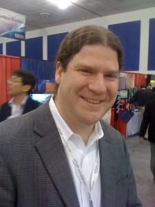 Seth Coe Sullivan, founder of QD Vision (front)